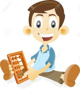 4468474-Kid-learning-math-using-abacus-Stock-Photo-math-cartoon-mathematics